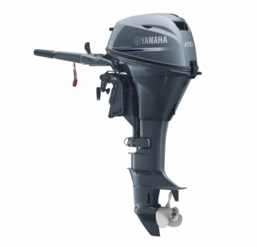 Yamaha 20 HP 4 Zamanlı Deniz Motoru F20 BEPS / (Elektrik Marşlı - Kısa Şaft)