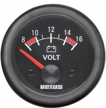 Vetus voltmetre.