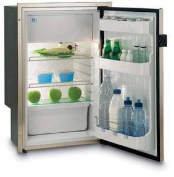 Vitrifrigo buzdolabı. C115iX. Paslanmaz çelik gövdeli.