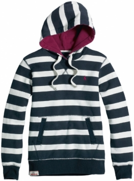 Musto Monsoon kapşonlu sweatshirt, Kadın.