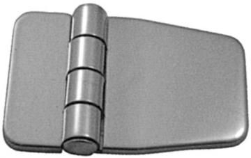 Kapaklı Menteşe 37 x 56 mm, Paslanmaz