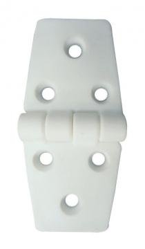 Plastik Menteşe Uzun-Uzun 37x78 mm