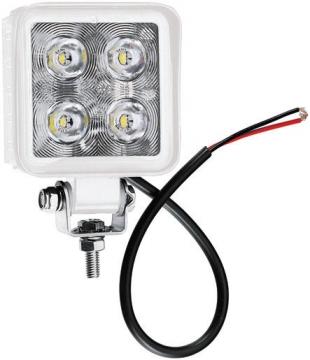4 LED'li Kare Lamba 12-24 V Işık Gücü: 700 Lümen