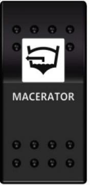 Switch On-Off 12-24V Macaratör