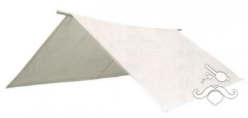 Yelkenliler için portatif tente. Beyaz.