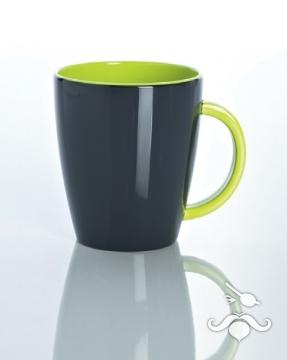 Lemon green melamin kupa, tekli