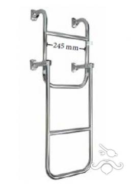 Katlanabilir Paslanmaz Merdiven