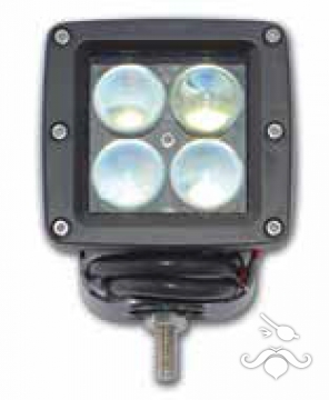 Aydınlatma Alüminyum 4 LED'li Geniş Mercekli