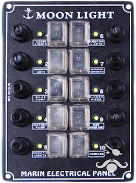 MD 4000 W SERİSİ İZOLELİ DİKEY SWITCH PANEL