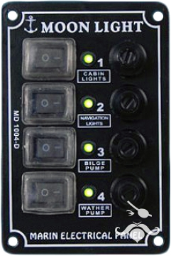 MD 1000 D SERİSİ İZOLELİ DİKEY SWITCH PANEL