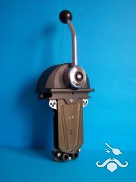 UltraFlex / UFLEX B301B Alçak Profilli Tek Kol Üstten Siyah