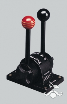 UltraFlex / UFLEX B 102 Çift Kol - Ayarlı - Ağır Hizmet - Siyah