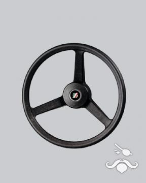 UltraFlex / UFLEX Direksiyon Simidi V 32 N - 335mm. - Termoplastik 3 Kollu Siyah