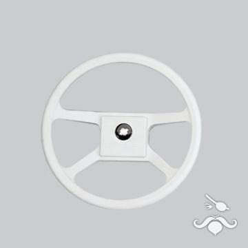 UltraFlex / UFLEX Direksiyon Simidi V 33 W - 342mm. - Termoplastik 4 Kollu Beyaz