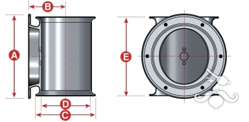 Thrustems Kıç Pervanesi EMS-S100-24 V