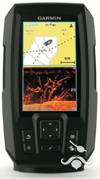 Garmin Balık Bulucu + GPS Striker Plus 4 CV