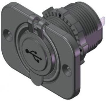 USB Soketi 12-24 Volt