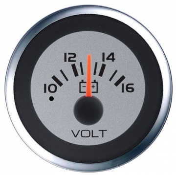 Veethree Instruments Argent Pro 10 - 16 V Voltmetre (Made in USA)
