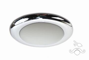 Ufo Slim Tavan Lambası ABS Gövdeli Krome