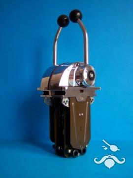 UltraFlex / UFLEX B301CR Alçak Profilli Tek Kol Üstten Krom