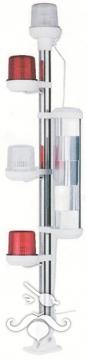 Işıklı Bayrak Direği 75 cm Arıza Feneri - Radar Reflektörü